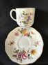Royal Crown Derby espresso cup and saucer